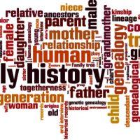 Family history sign