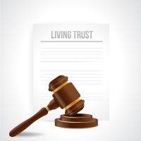 doc that reads living trust
